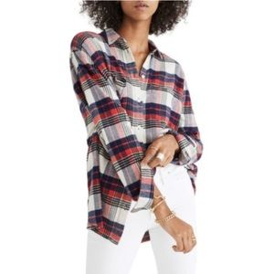 Madewell Ex Boyfriend Oversized Plaid Flannel